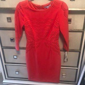 Beautiful Antonio Melanie coral dress.